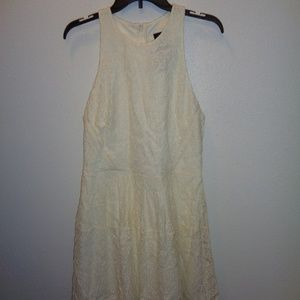 NWT Women's Mossimo White Lace Dress Size L Large